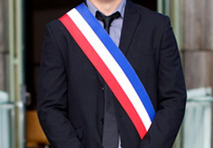 Echarpe de maire tricolore Varinard
