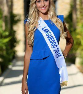 Echarpe Miss Languedoc 2015