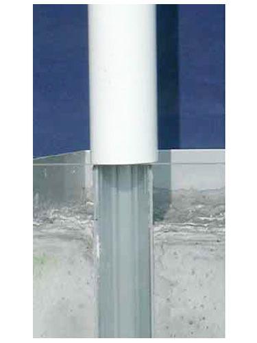 Fourreau en aluminium ou en acier galvanisé