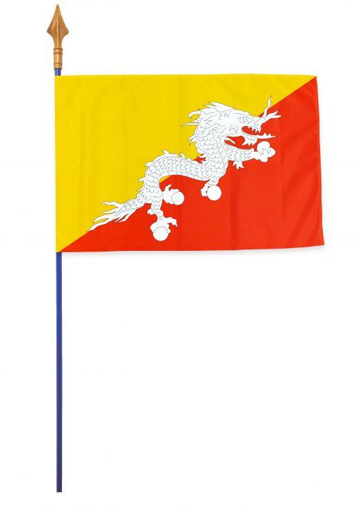 Drapeaux, pavillons et oriflammes Bhoutan 40*60 cm