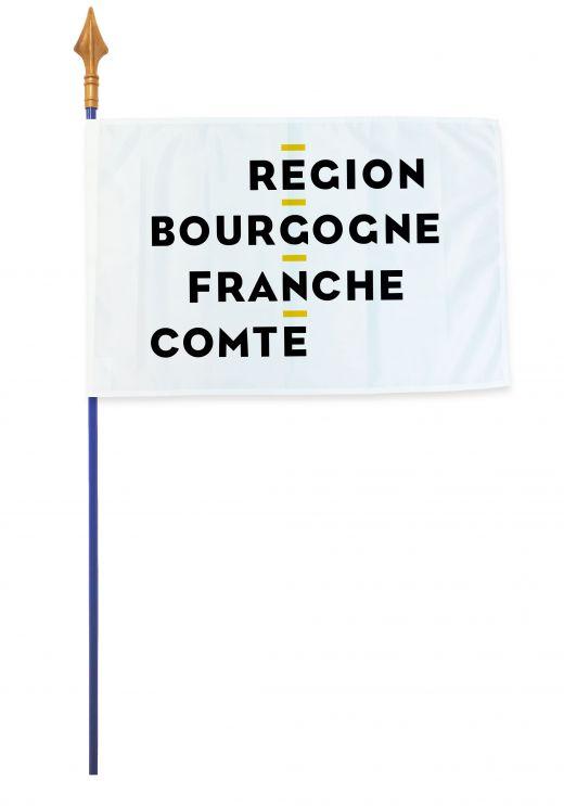 Drapeaux et oriflammes Bourgogne-Franche-Comte 40*60 cm