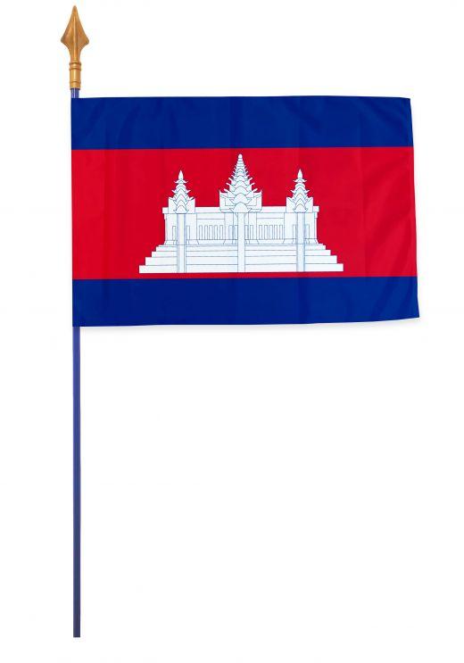 Drapeaux, pavillons et oriflammes Cambodge 40*60 cm