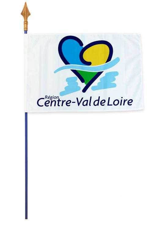Drapeaux et oriflammes Centre-Val de Loire 40*60 cm