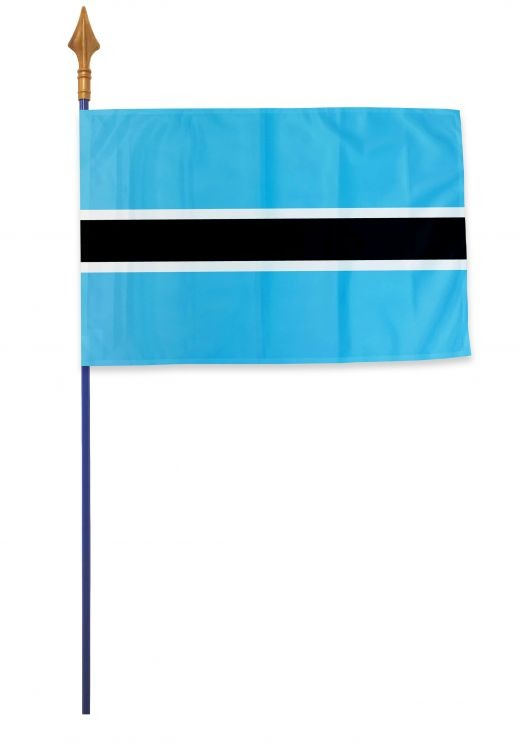 Drapeau Botswana Varinard 40*60 cm