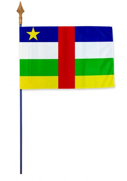 Drapeau République centrafricaine Varinard 40*60 cm