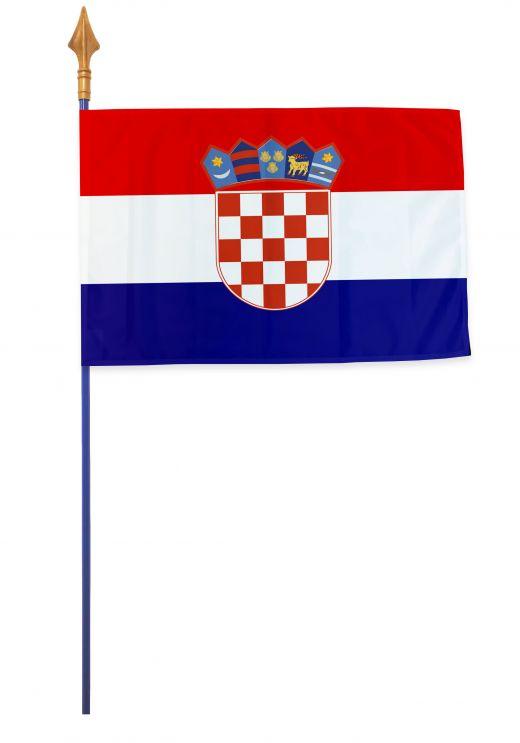 Drapeau Croatie Varinard 40*60 cm