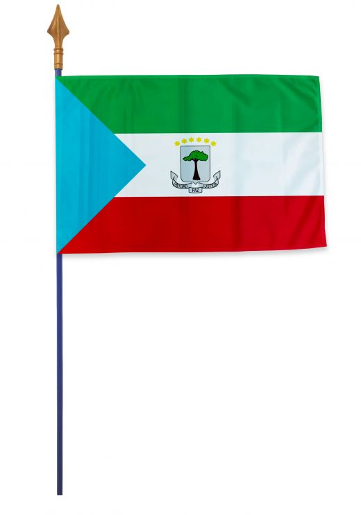 Drapeau Guinée équatoriale Varinard 40*60 cm