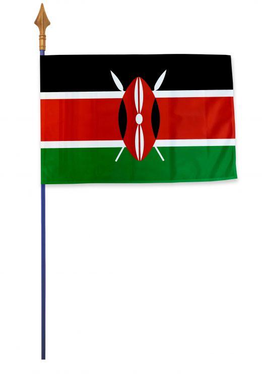 Drapeau Kenya Varinard 40*60 cm