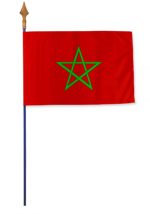 Drapeau Maroc Varinard 40*60 cm