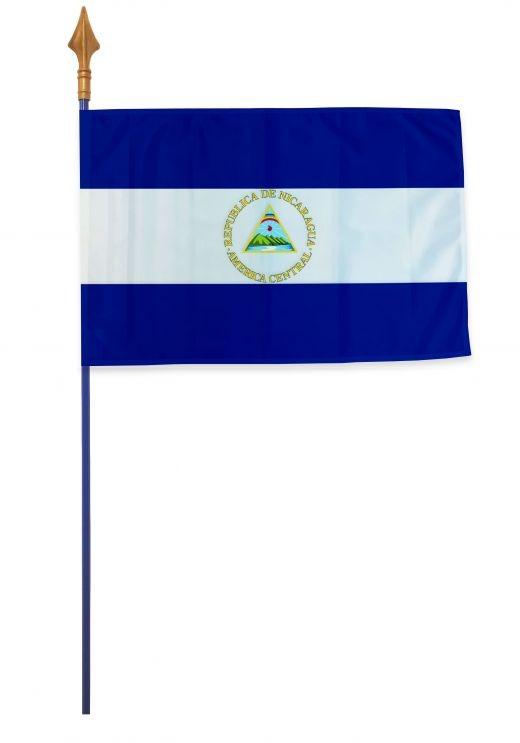 Drapeau Nicaragua Varinard 40*60 cm