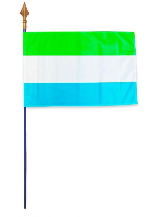 Drapeau Sierra Leone Varinard 40*60 cm