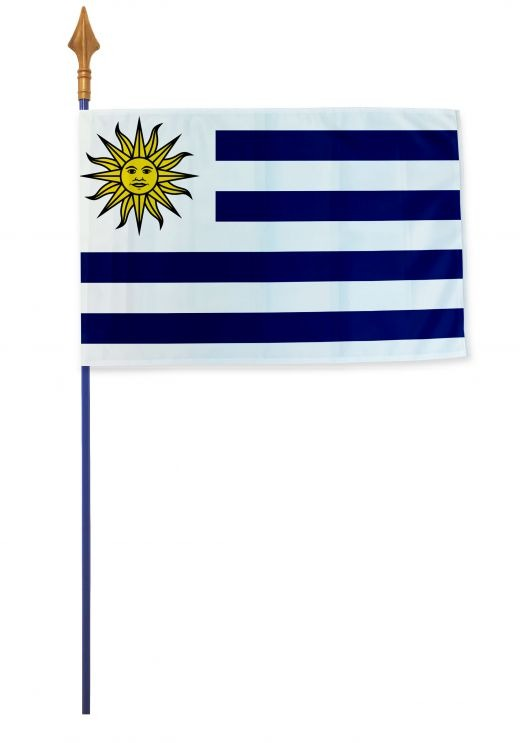 Drapeau Uruguay Varinard 40*60 cm