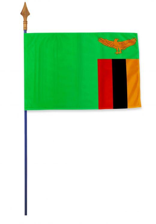 Drapeau Zambie Varinard 40*60 cm