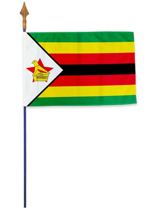 Drapeau Zimbabwe Varinard 40*60 cm