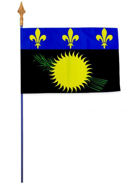 Drapeaux et oriflammes Guadeloupe 40*60 cm