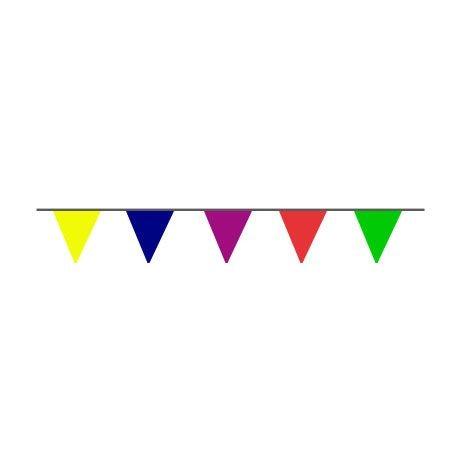 Guirlande tissu triangulaire