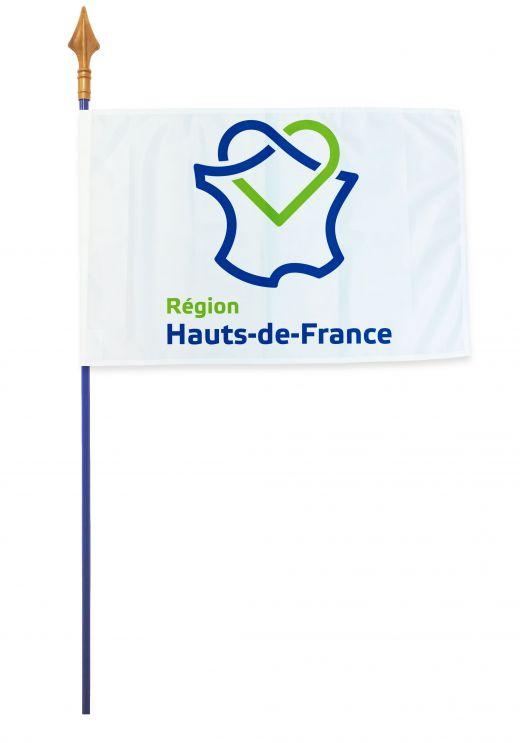 Drapeaux et oriflammes Hauts-de-France 40*60 cm
