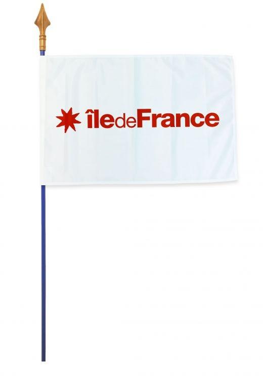Drapeaux et oriflammes Île-de-France 40*60 cm