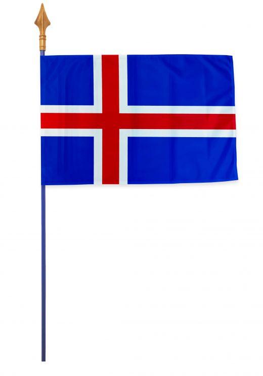 Drapeaux et oriflammes Islande 40*60 cm
