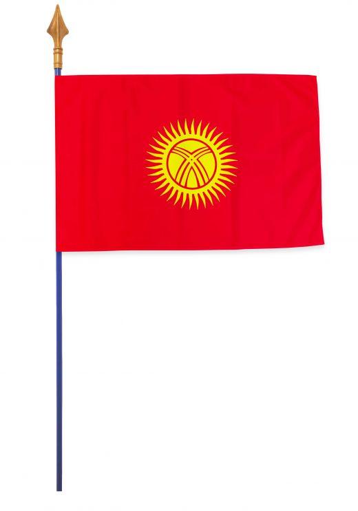 Drapeaux et oriflammes Kirghizistan 40*60 cm