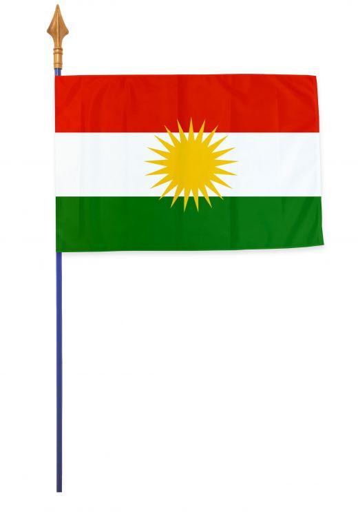 Drapeaux et oriflammes kurdistan 40*60 cm