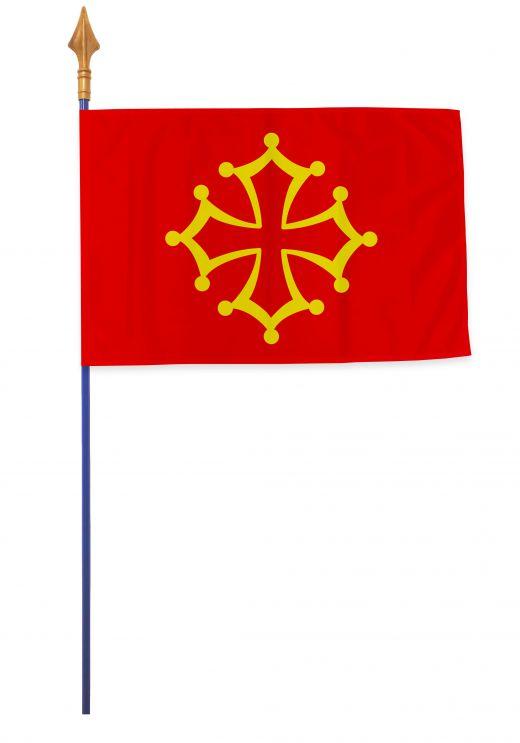 Drapeaux et oriflammes Languedoc 40*60 cm