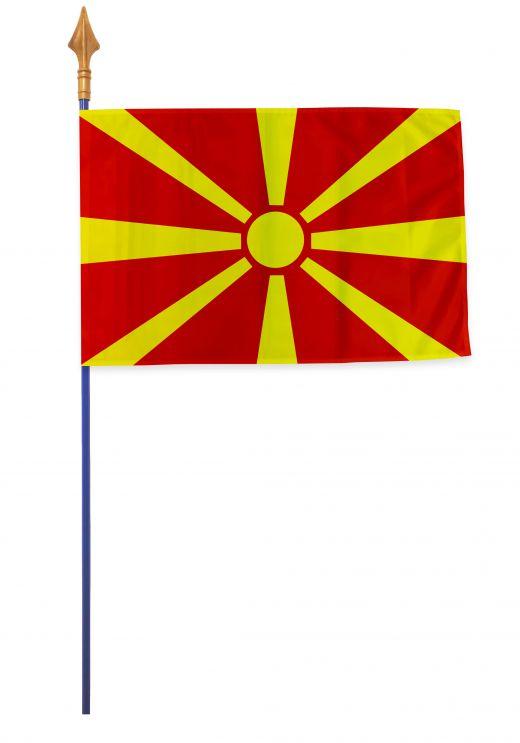 Drapeaux et oriflammes Macédoine 40*60 cm