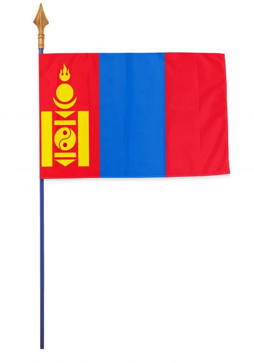 Drapeaux et oriflammes Mongolie 40*60 cm