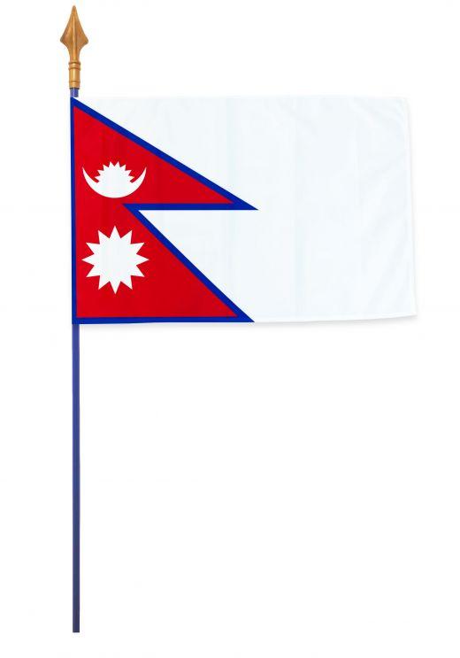 Drapeaux et oriflammes Népal 40*60 cm