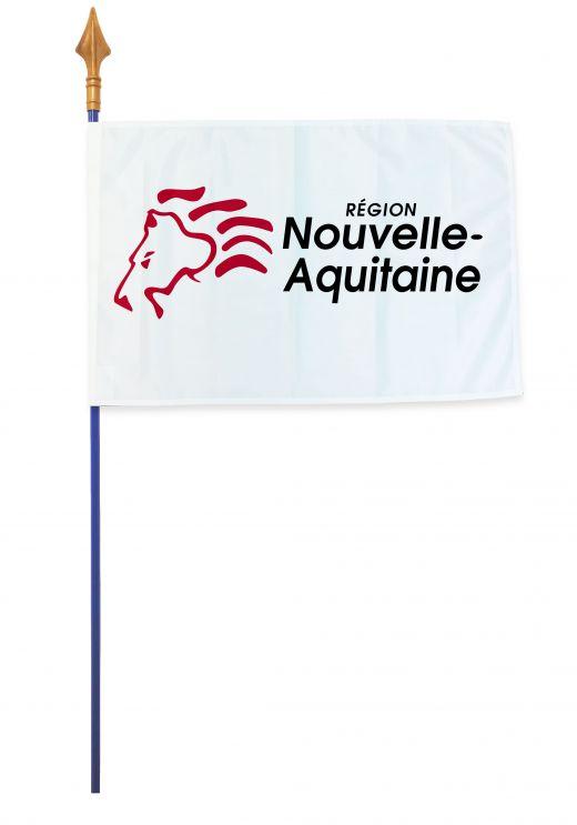 Drapeaux et oriflammes Nouvelle-Aquitaine 40*60 cm
