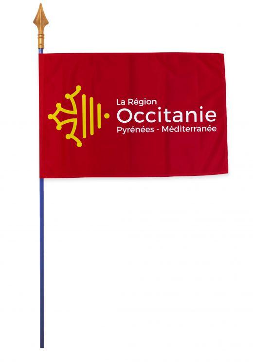 Drapeaux et oriflammes Occitanie 40*60 cm