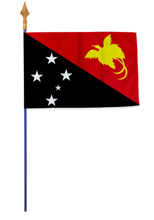 Drapeaux et oriflammes Papouasie-Nouvelle-Guinée 40*60 cm