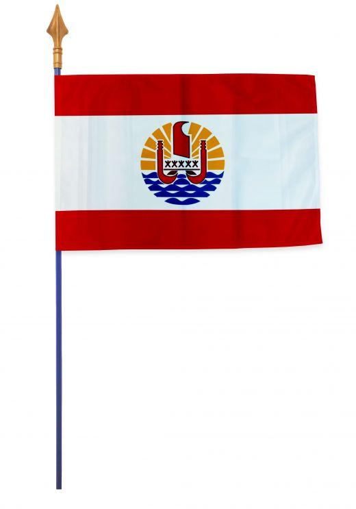Drapeaux et oriflammes Polynésie française 40*60 cm