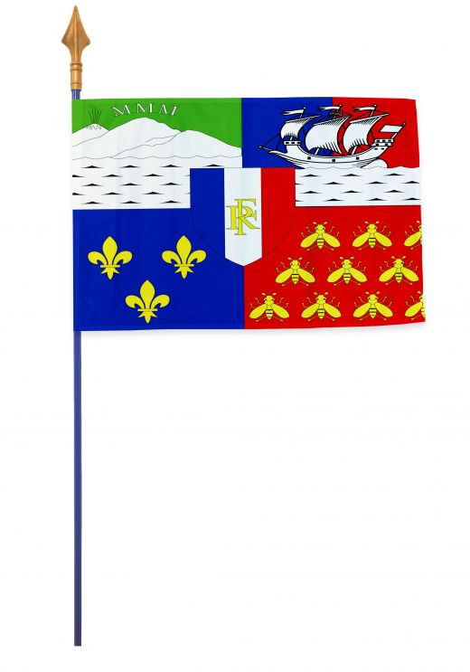 Drapeaux et oriflammes Réunion 40*60 cm