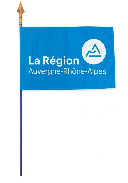 Drapeaux et oriflammes Rhône-Alpes 40*60 cm