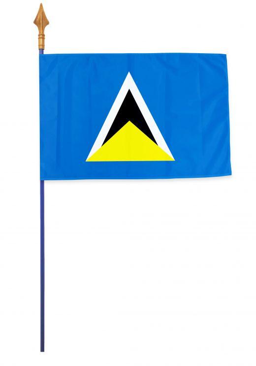 Drapeaux et oriflammes Sainte-Lucie 40*60 cm