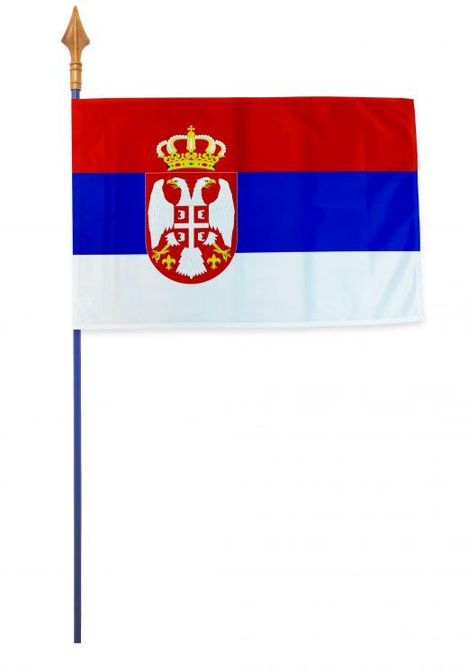 Drapeaux et oriflammes Serbie 40*60 cm