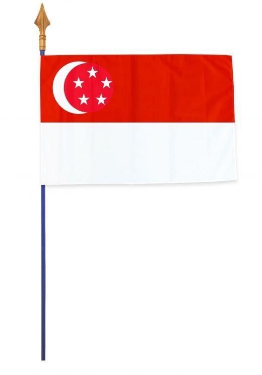 Drapeaux et oriflammes Singapour 40*60 cm