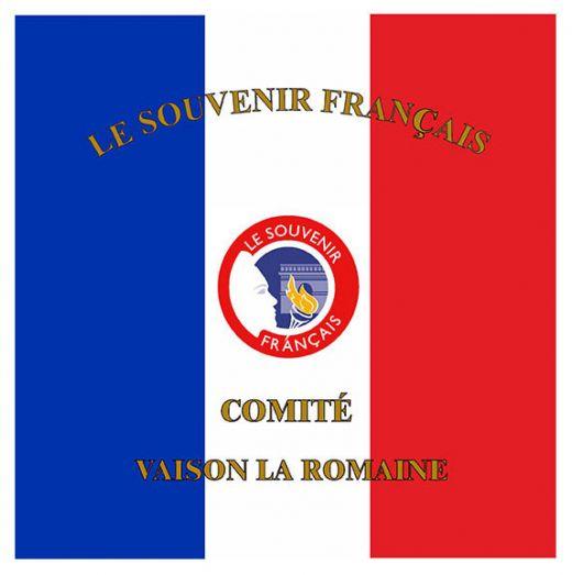 Drapeau souvenir Français