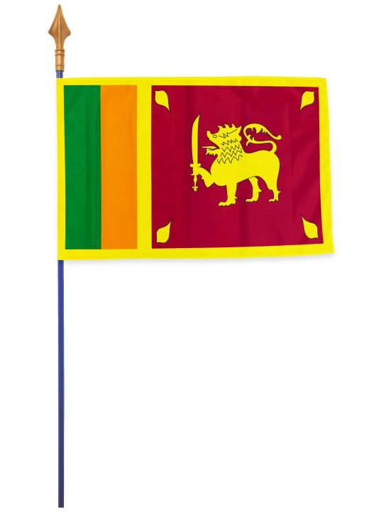 Drapeaux et oriflammes Sri Lanka 40*60 cm