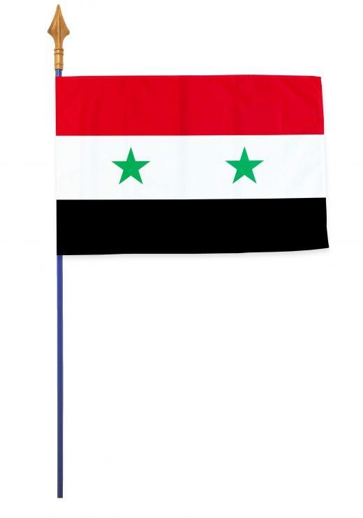 Drapeaux et oriflammes Syrie 40*60 cm