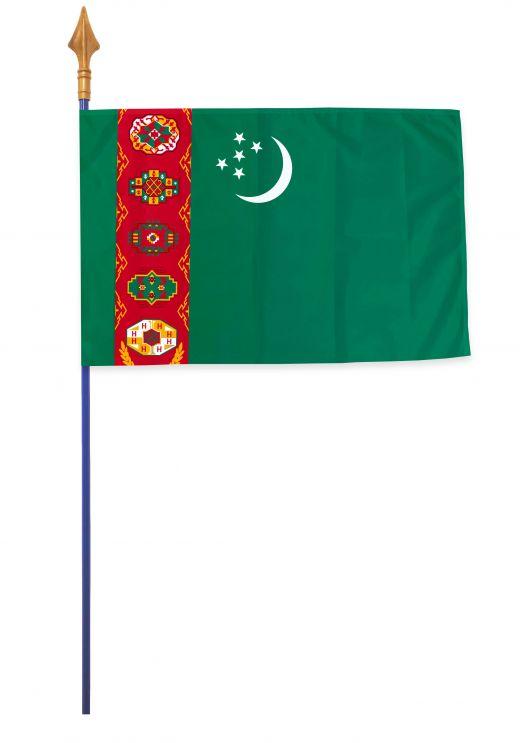 Drapeaux et oriflammes Turkmenistan 40*60 cm
