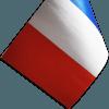 Drapeau de table prestige Trévo France
